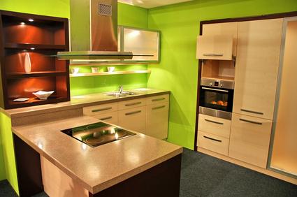 cuisine: astuces décoration de l'espace cuisine aménagé sur www ... - Meuble Cuisine Couleur Vanille